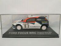 1/43 FORD FOCUS WRC MCRAE 2002 ACROPOLIS RALLY IXO RALLYE ESCALA DIECAST SCALE