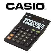 Casio MS-8B Multi Functional 8 Digit Desk Calculator Dual Power Solar & Battery