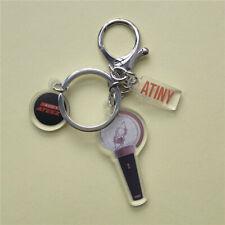 Kpop ATEEZ Lightstick Acrylic Keychain Bag Pendant Charm San Woo Young Keyring