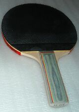 Basic unique style (pips out) rubber table tennis racket bat ping pong paddle $