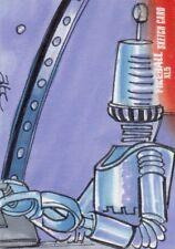Gerry Anderson's Fireball XL5 Rare Adam Cleveland Sketch Card d