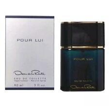 Oscar Pour Lui 3.0 Oz Eau De Toilette Spray By Oscar De La Renta New Box For Men