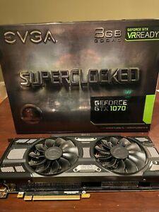 EVGA GeForce GTX 1070 SC 8GB GDDR5 Graphics Card