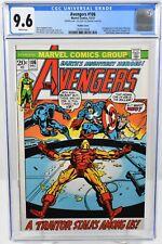 Avengers #106 (1972) CGC Graded 9.6 Double Cover 2nd App. Space Phantom Marvel