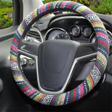 Boho Anti-Slip Car Steering Wheel Cover Colorful Pattern for Car Auto Shan