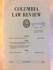 Lot 8 COLUMBIA LAW REVIEW VOL 111 No 1-8