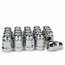 20 Lug Nuts Bulge Acorn 12x1.5 Chrome Wheel Nut Fits Honda Accord Civic