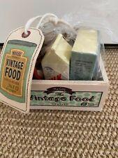 Maileg Vintage Food Set in Wooden Crate Retired - Unused