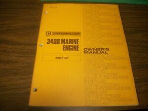 Caterpillar 3408 Marine Engine Owners Manual