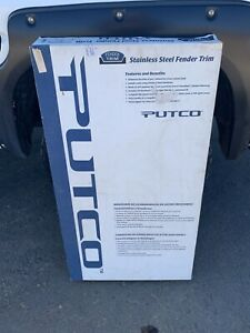 (2) Putco 97213 Stainless Steel Fender Trim