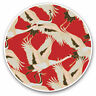 2 x Vinyl Stickers 10cm - Oriental Crane Bird Art Cool Cool Gift #2083
