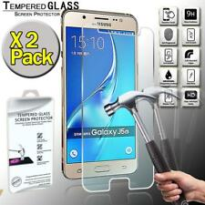 2 Pack Tempered Glass Film Screen Protector  For Samsung Galaxy j5 (2016)