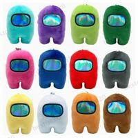 10cm Among Us plusies Toy Game Plush Stuffed Keychain Pendant Doll Kids Gift BG