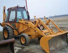 Case 580 E 580E 580SE Super E Tractor Backhoe Loader Operator Owner OP Manual CD