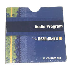 Prentice Hall Spanish Realidades Audio Program Level 2 (22 Cd-Rom Set)