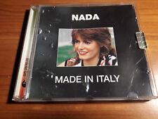 Nada (Malanima) Serie MADE IN ITALALY EMI 2004 RARISSIMO