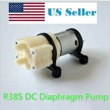 DC 12V R385 Mini Aquarium Pump Fish Tank Motor for Diaphragm Pump Water/AIR Pump