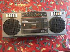 Vintage SAISHO Portable Stereo Radio/Cassette Recorder STR 135