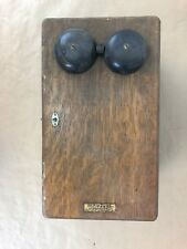 Vintage Western Electric Phone Box Telephone Prop Collection Decor Restore