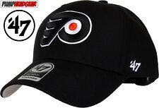 Philadelphia Flyers 47 Brand MVP Adjustable Black NHL Cap