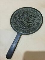Chinese old old bronze, bronze mirror decoration Feng Shui