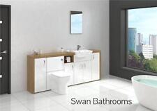 More than 200cm Width Handmade Cabinets & Cupboards Oak