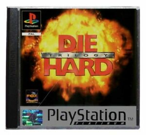 DIE HARD TRILOGY (PLATINUM RANGE) (PS1 Game) Playstation C