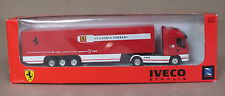 CAMION IVECO STRALIS SCUDERIA FERRARI - NEW RAY - 1/87 EME -NEUF SOUS BLISTER !!