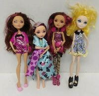 4 Ever After High Doll Apple White Madeline Briar 1st Chapter Clothes Lot # 2