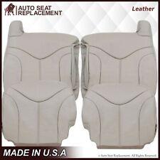 2000 2001 2002 GMC Yukon XL 1500 2500 SLT SLE Leather Seat Cover Tan