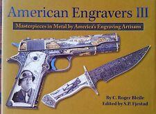 American Engravers GUN BOOK new  Rifle handgun machine gun pistol