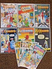 Excalibur comics #1 thru #75 plus extra