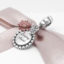 Pandora Loving Aunt, Pendant Bracelet Charm, S925, NEW, 791277CZ