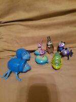 Vintage 1998 Disney Pixar A Bug's Life McDonald's Happy Meal Wind Up Toy Lot
