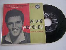 EP 4 TITRES VINYLE 45 T ELVIS PRESLEY , DON' T . VG + / EX . RCA 75.445 .