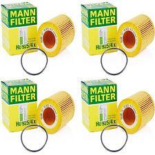 4Pack BMW Oil Filter OEM MANN HU 925/4 X Engine Oil Filter