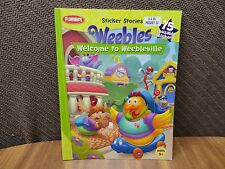 Playskool Sticker Stories. Weebles: Welcome to Weebleville.