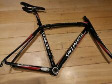 Specialized S-Works Tarmac SL Bike Frame 53 cm top tube Toupe ti 143 titanium