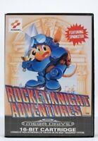 SEGA Mega Drive Spiel - Rocket Knight Adventures mit OVP