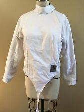 Af Absolute Fencing Gear Women's Jacket Size 38 Rh White Pre-owned