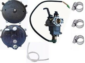 Natural Gas LPG Petrol Conversion Kit Carburettor Generator Parts GX160 to Gx390
