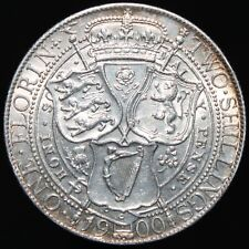 1900 | Victoria One Florin/Two Shillings | Silver | Coins | KM Coins