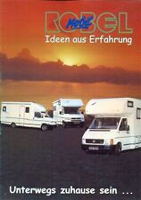 Robel Mobil - VW Caravelle LT Camper Van German market 2000 sales brochure