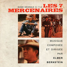 CD Les 7 Mercenaires (The Magnificent Seven) - Bande Originale du Film - BOF OST