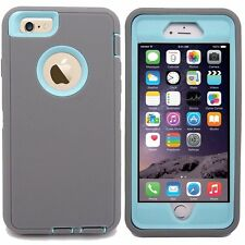 Protective Hybrid Rugged Shockproof Hard Case Cover for Apple iPhone 6 / 6 Plus