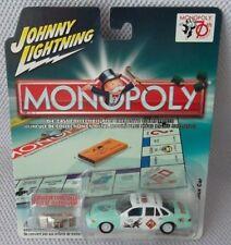 "1997 FORD POLICE CAR & TOKEN  Johnny White Lightning MONOPOLY ""GO TO JAIL"" CHASE"