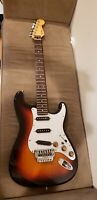 MIJ Fender Stratocaster Strat Japan Electric Guitar E Locking Neck Tremolo