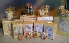 Vintage Cherished Teddies Collection Lot of 8 w/boxes New In Box
