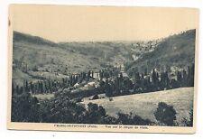 chatel-le-couvent , vue sur le cirque de gizia