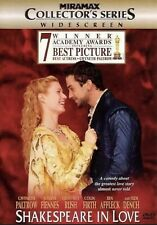 New ListingShakespeare in Love (Dvd, 1999, Collectors Series) Disc Only Free Shipping